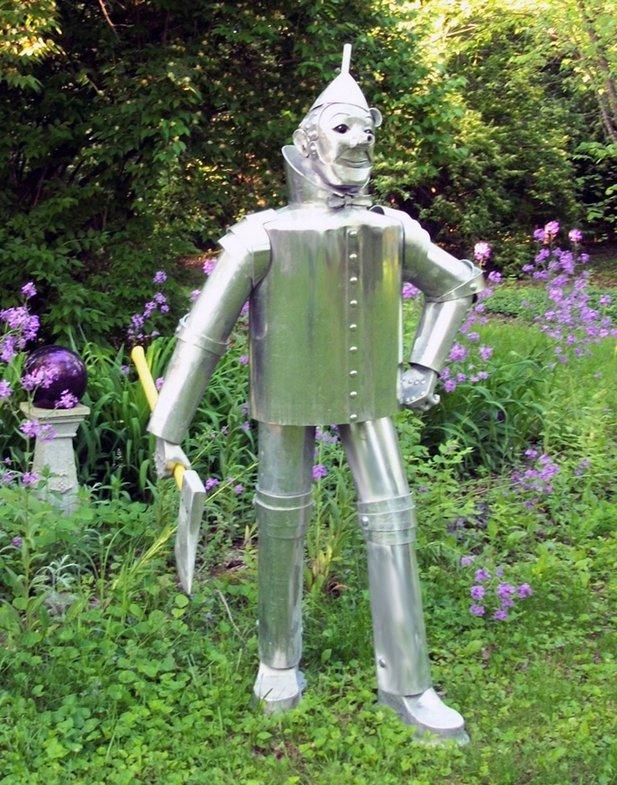 Tin Man Sculpture